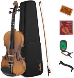 Eastar EVA-3 Solid Wood Violin Set