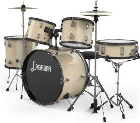 Lagrima 5-Piece Full Size Drum Set