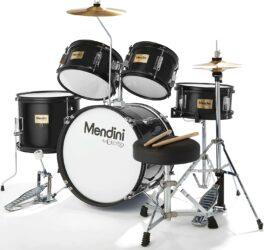 Mendini by Cecilio 5-Piece Complete Drum Set