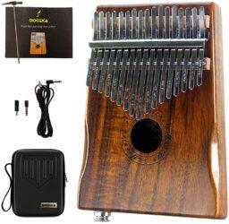 Moozica 17 Keys Electric Kalimba