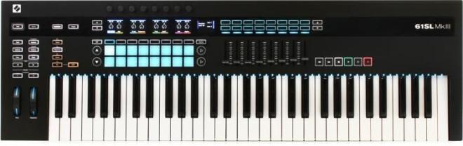 Novation 61SL MKIII 61-Key Keyboard Controller