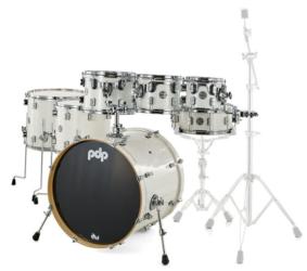 PDP by DW CM7 Concept Series Maple 7-Piece Drum Kit