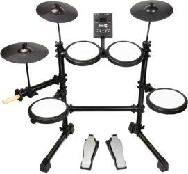 RockJam 8-Piece Electronic Drum Kit Set