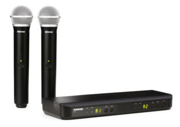 Shure BLX288 Dual Channel Wireless Microphone System