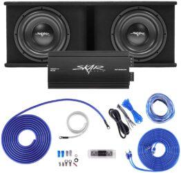 Skar Audio SDR-2X12D4