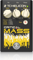 TC-Helicon Critical Mass Vocal Harmony Effects Pedal