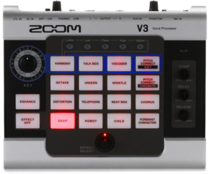 Zoom V3 Multi-effects Vocal Processor