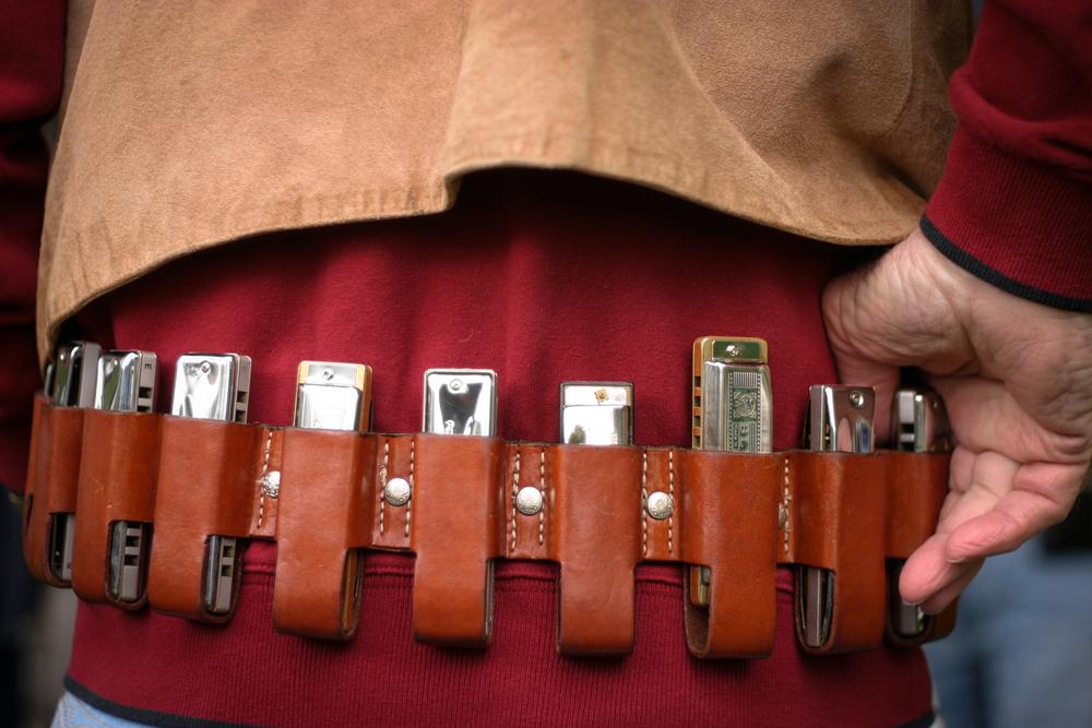 belt of harmonicas