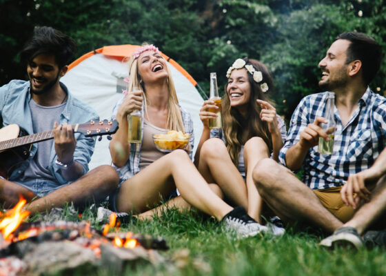 15 Easy Acoustic Guitar Songs to Rock a Campfire Singalong